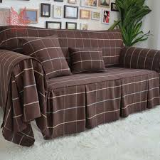 sofa cover home textile high quality poly cotton sofa cover modern style