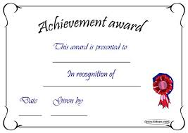 9 best images of funny certificates of achievement free