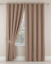 Curtains Seattle Zen Seine Plain Eyelet Curtains W 167 Cm L 228 Cm Living Rooms