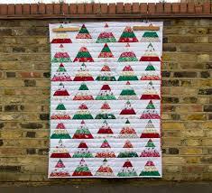 tutorial caroline u0027s christmas tree quilt the village haberdashery