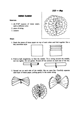 tissue paper flowers printable instructions search tissue paper flower and create