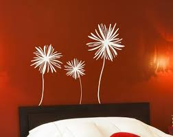 best wall stickers for bedrooms ideas image of giant flower wall decal
