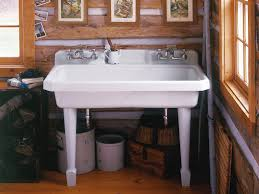 Kohler Laundry Room Sinks by Replacing A Utility Sink Faucet Electronic Utility Sink Faucet