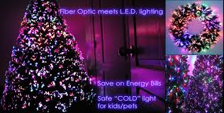 artificial trees pre lit tree fiber optic trees