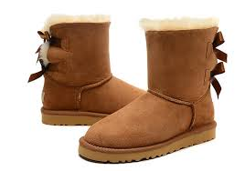 womens warm boots australia 3280 bailey bow boots winter cowhide leather bowknot