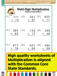 kids math multiplication worksheets grade5 ipad reviews at ipad