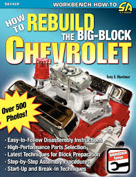 how to rebuild the big block chevrolet tony e huntimer