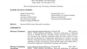 pharmacy tech resume objective pharmacy technician resume sample