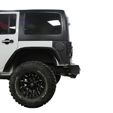 2016 jeep avenger opar avenger rear bumper w led light for 07 17 jeep wrangler jk
