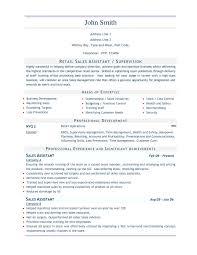 Dillards Sales Associate Job Description Sample Resume Sales Resume Cv Cover Letter