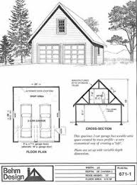 Two Car Garage Organization - two car garage with loft plan 856 1 by behm design garden sheds