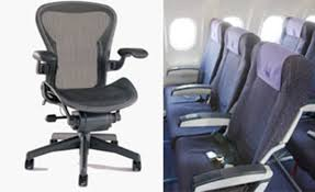 why aren u0027t airplane seats more like the aeron chair