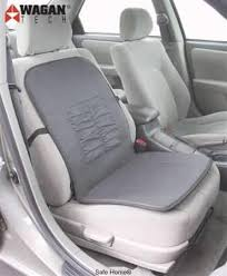 wagan heated seat cushion 12vdc fast heat synthetic leather safe