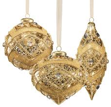 And Gold Glass Ornaments Gold Ornaments Happy Holidays