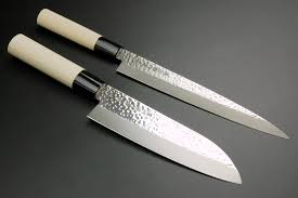 japanese kitchen chef knife santoku japon japan couteau japonais