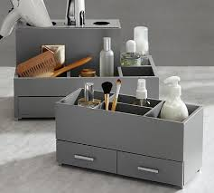 hair and makeup storage mckenna hair make up storage pottery barn