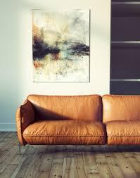 Camel Leather Sofa by Interior Scene By Toni Fresnedo Http Www Tonifresnedo Com 3d