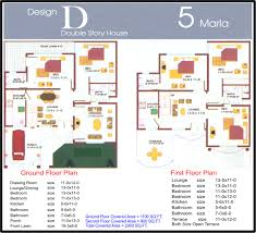 home design for 7 marla 6 marla house plans civil engineers pk maps of home design