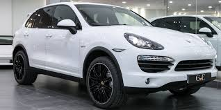 porsche suv white 2017 porsche cayenne s hybrid vat q 2012 gve luxury vehicles london