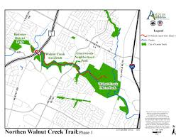 City Of Austin Map by Work Continues On Walnut Creek Trail System Austintexas Gov