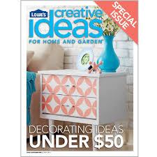 lowe u0027s creative ideas digital magazines