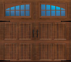 Door Pattern Amarr Classica Tuscany Pattern Seine Windows Walnut