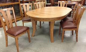 Solid Oak Dining Table Oak Furniture Warehouse Amish Usa Made Style Selectionoak