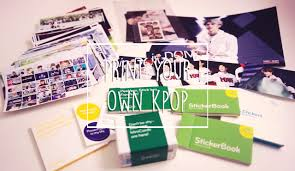 diy print your own kpop photos cards stickers etc