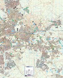studio city map gauteng east rand wall map mapstudio