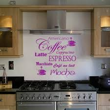 wall tile stickers kitchen awesome mosaic designs gives coffee latte mocha wall art decal for kitchen decoration