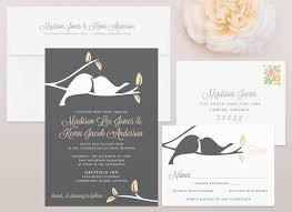 wedding invitations hamilton birds wedding invitation mallory design