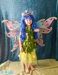 Flower Fairy Halloween Costume Flower Fairy Costume Tutorial Tikkido