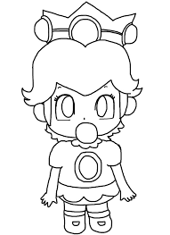 download baby peach coloring pages ziho coloring