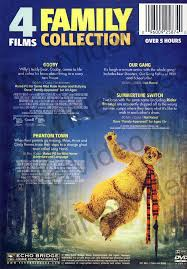 4 films family collection featuring gooby value movie