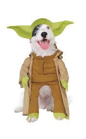 yoda dog fancy dress star wars scifi film pet puppy animal