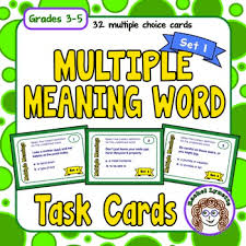 exploring multiple meaning words and a freebie minds in bloom
