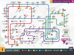 Bus Route Map Go Kl Bus Free Bus Service In Kuala Lumpur Tourist Helpline