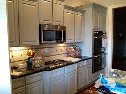 a d design painting painted kitchen cabinets two different colors