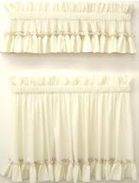 Ruffled Kitchen Curtains by Carolina Country Ruffled Curtains Thecurtainshop Com