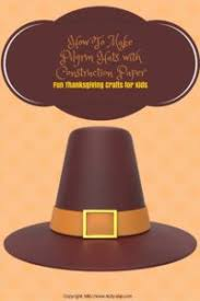 Pilgrim Hats Out Of Construction Paper - how to make pilgrim hats for day make any day a