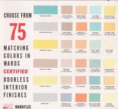 1950s and 60s paint colors from sears u0027 classic harmony house