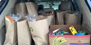 help deliver food to needy families volunteer rutherford