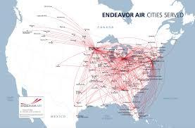 Denver Terminal B Map Endeavor Air 8 2017 Route Map Jpg