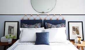 hanging cushion headboards inside how to make a gorgeous diy