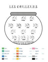 kindergarten learn french language worksheet printable education