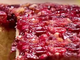 cranberry upside down cake recipe paula deen food network