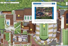 Folsom Field Map Cu Boulder Launches Campusbird Map And Tour Platform Campusbird