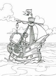 piet pirate ship coloring pages bulk color
