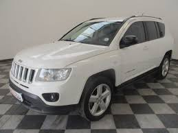 silver jeep compass used jeep compass 2 0 ltd for sale