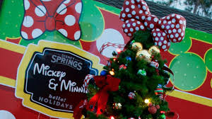 christmas tree trail at disney springs now open